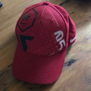 Red and black CrossFit hat